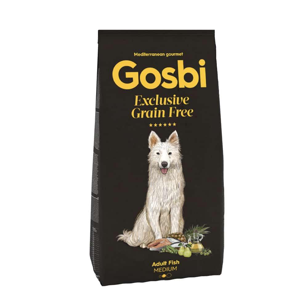 """Gosbi- גוסבי דגים לכלב בינוני וגדול 12 ק""""ג"""