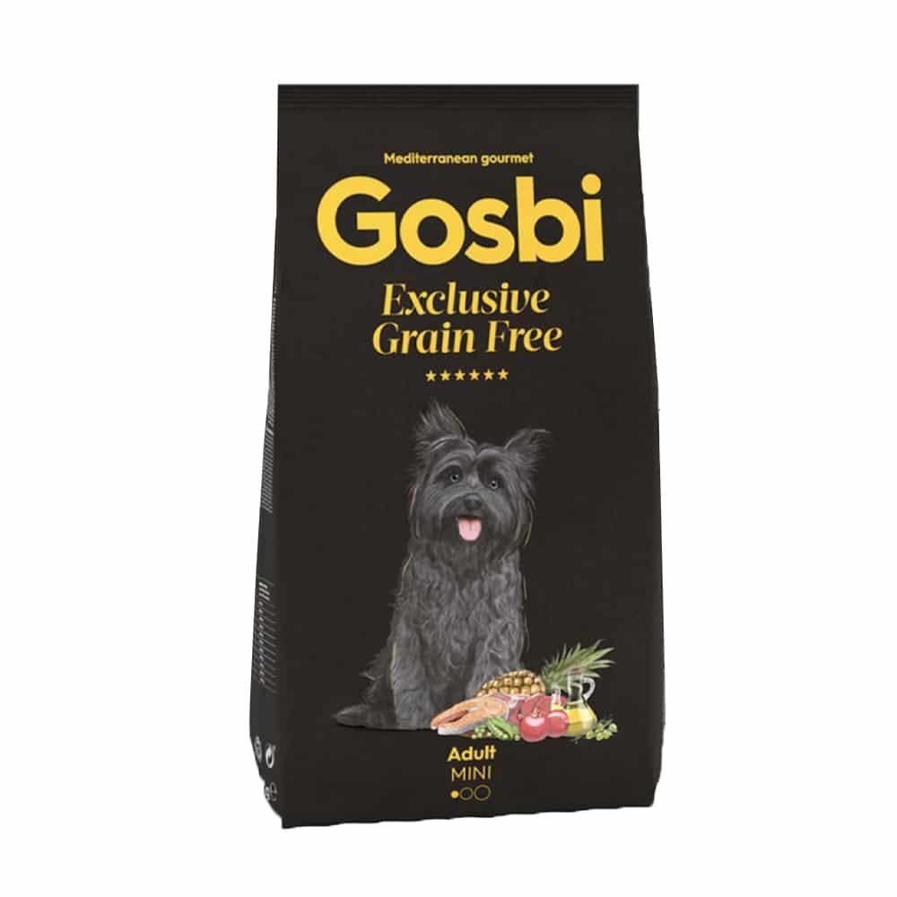 "Gosbi- גוסבי בוגרים מיני ללא דגנים 2 ק""ג"