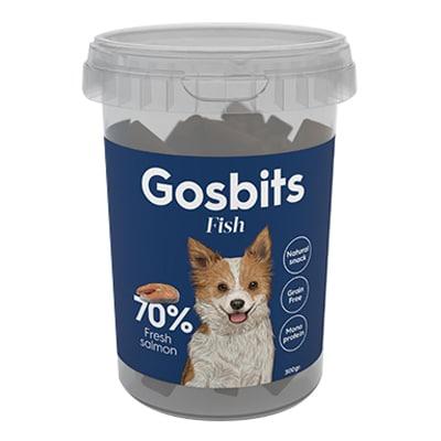 חטיף לכלב גוסביטס דגים 300 גר'