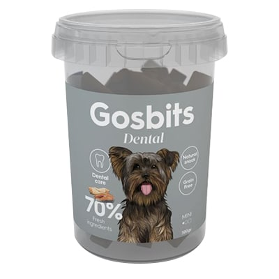 חטיף לכלב גוסביטס דנטל 300 גר'