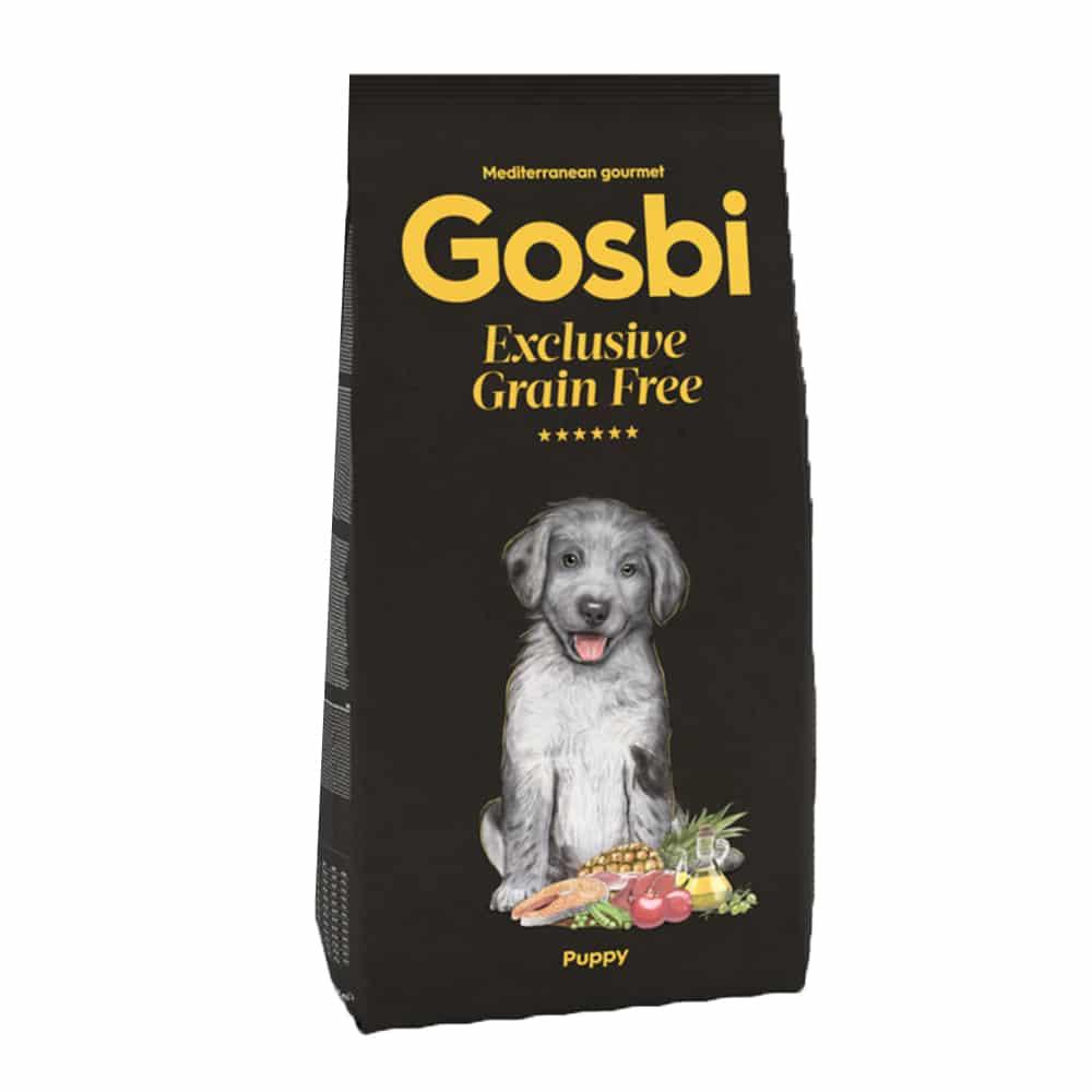 "Gosbi- גוסבי גורים ללא דגנים 3 ק""ג"