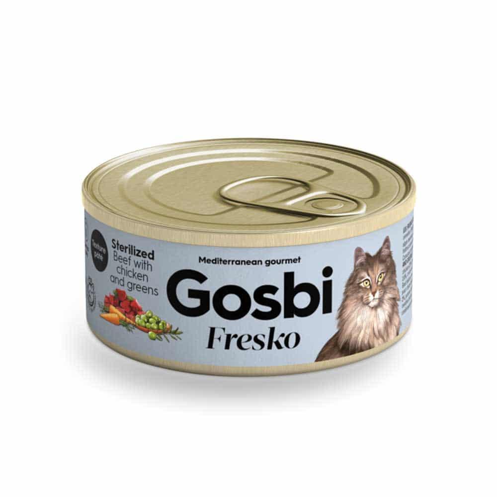 GOSBI- פרסקו פטה בקר, עוף וזיתים