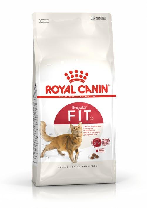 "royal canin- מזון יבש חתולים פיט 32 - 4 ק""ג"