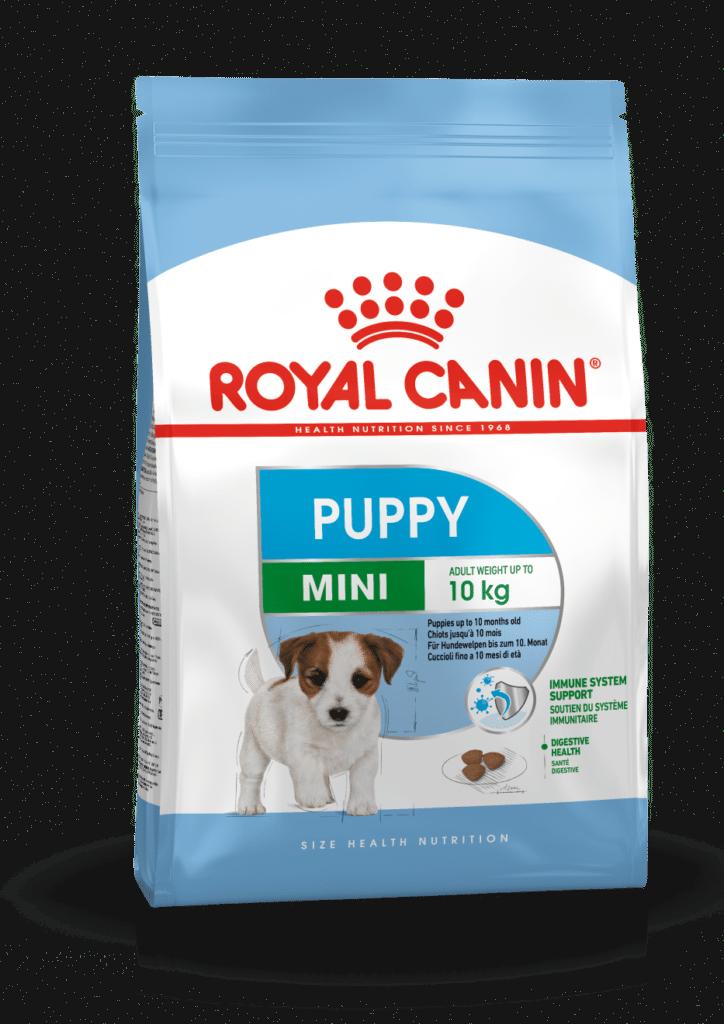 """royal canin- מזון יבש כלבים גורים מיני 2 ק""""ג"""