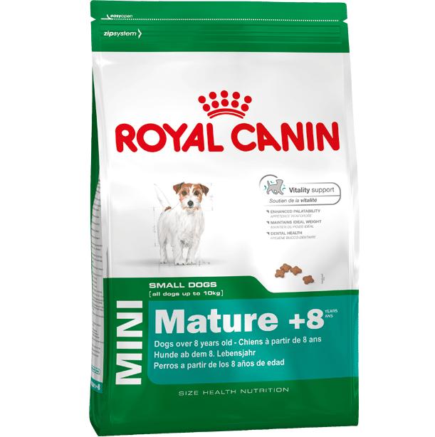 """royal canin- מזון יבש כלבים מבוגרים מיני 4 ק""""ג"""
