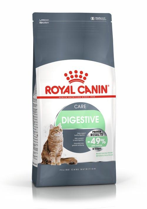 "royal canin- מזון יבש חתולים דייג'סטיב קייר 4 ק""ג"