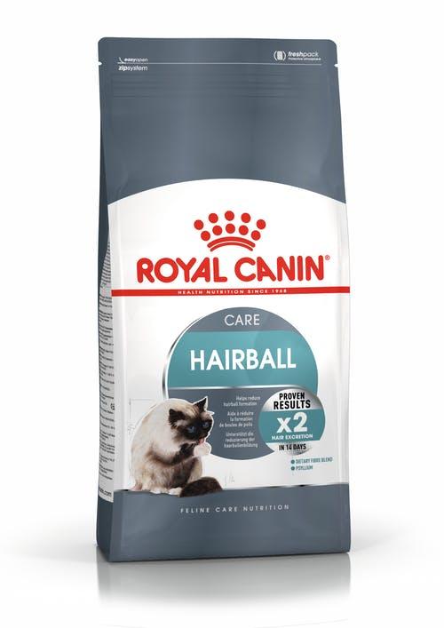 """royal canin- מזון יבש חתולים היירבול קייר 4 ק""""ג"""