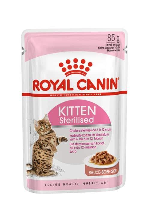 royal canin- פאוץ לחתול גור סטרילייז