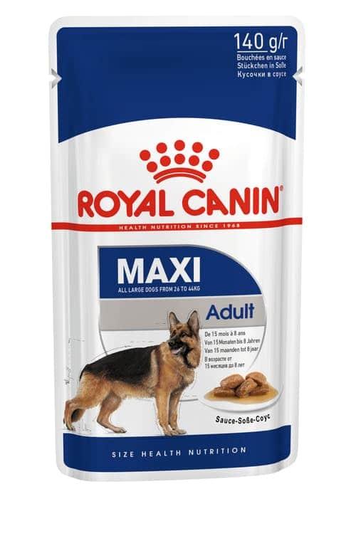 royal canin-פאוץ בטעם עוף לכלבים בוגרים גזע גדול